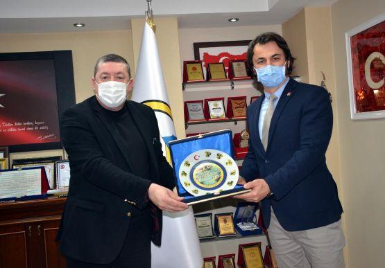 Zonguldak CHP Milletvekilleri Ünal Demirtaş ve Deniz Yavuzyılmaz, Belediyemizi ziyaret etti.
