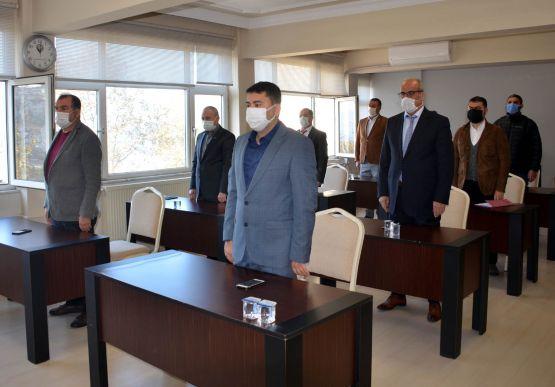 Alaplı Belediyesi kasım ayı olağan meclis toplantısı yapıldı.