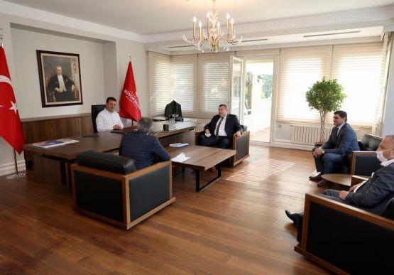 Belediye Başkanımız Nuri Tekin, İstanbul Büyükşehir Belediye Başkanı Ekrem İmamoğlu'nu ziyaret etti.