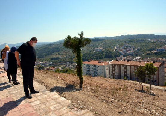 Belediye Başkanımız Sayın Nuri TEKİN Teras Park alanında incelemelerde bulundu