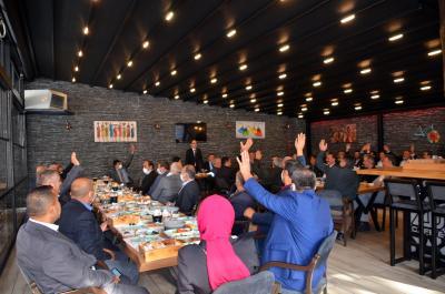 Alaplı Belediye Başkanı Nuri Tekin, 19 Ekim Muhtarlar Günü dolayısıyla muhtarlarla kahvaltıda bir araya geldi.