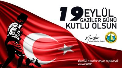Alaplı Belediye Başkanı Nuri Tekin,Gaziler Gününü Kutladı...