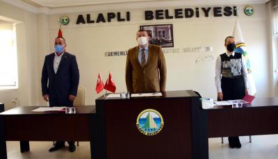 Alaplı Belediyesi Mart ayı olağan  Meclis toplantısı yapıldı.